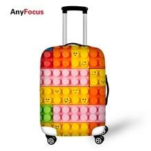 Klasikinis pop bagažo modelis Elastiniai čekio apsauginiai dangteliai su užtrauktuku. Tinka 18-30 colių bagažinės dangteliui. Bagažo dangtelis. Krepšiai