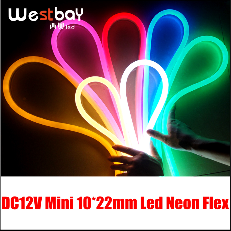 Us 183 08 8 Off Mini Yellow Led Neon Flex For Diy Home Lighting Solution Dc12v Input Light Por Russia Brazil Australia In Bulbs