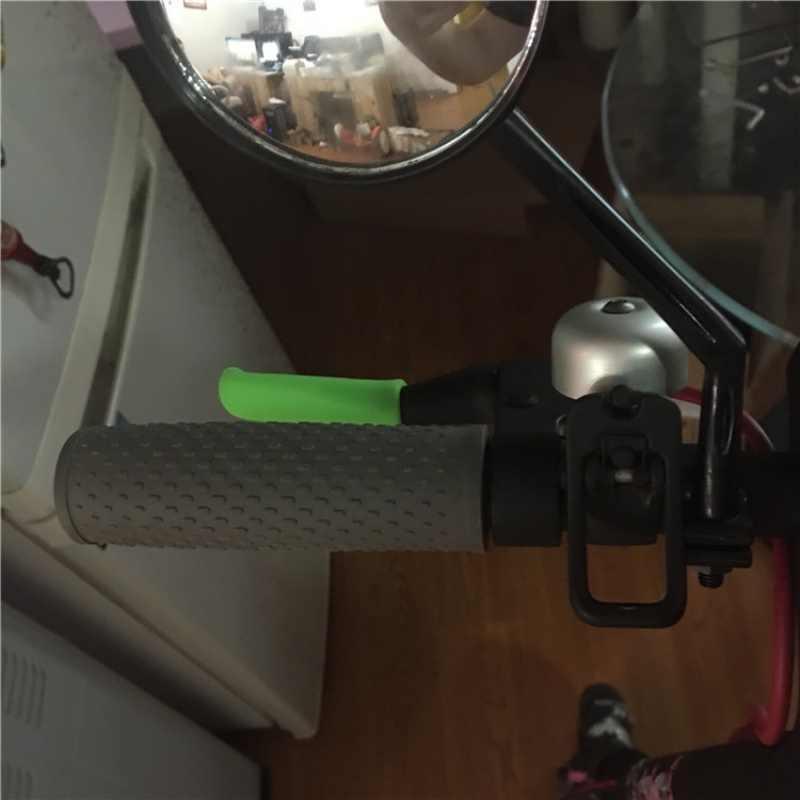 ブレーキハンドル保護ケース xiaomi Mijia M365 電気スマートスクーター固定ギアシリコン保護ケースカバー交換