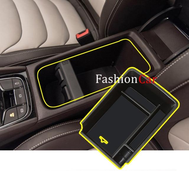 for skoda kodiaq 2017 2018 1pcs interior storage box accessories car styling in interior. Black Bedroom Furniture Sets. Home Design Ideas