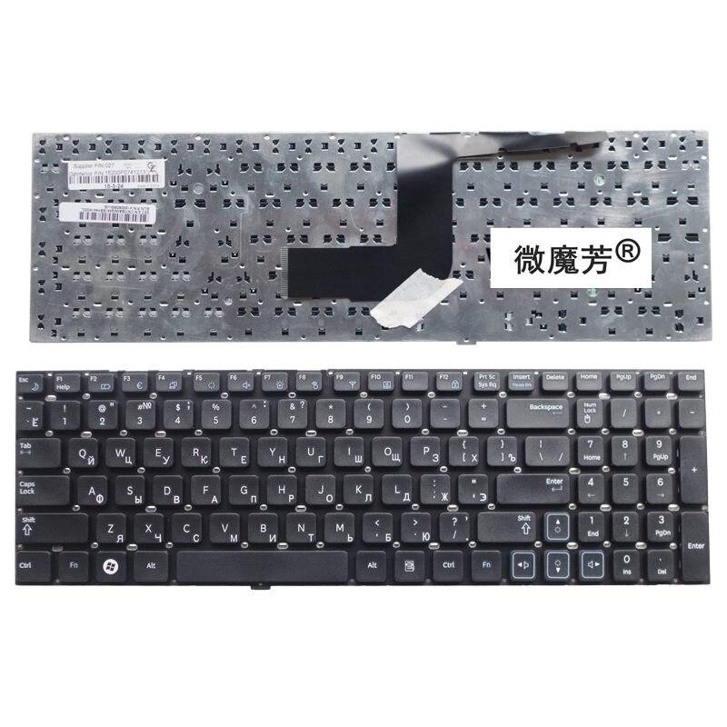 Negro RU nuevo para samsung RV511 RC510 RC520 RV520 RV515 RV518 RC512 portátil teclado ruso