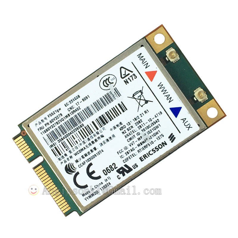 Lenovo ThinkPad Edge E420s Ericsson WWAN Drivers Download