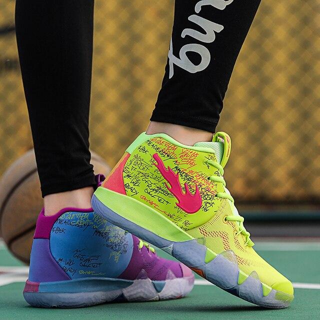 Irving 4 6th Generazione scarpe Da Basket degli uomini scarpe Da Tennis Degli Uomini scarpe uomo Allaperto antiscivolo scarpe da ginnastica degli uomini zapatillas hombre casual