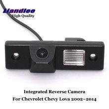 цена на Liandlee Car Rearview Reverse Camera For Chevrolet Chevy Lova 2002~2014 Rear View Backup Parking Camera / SONY CCD HD