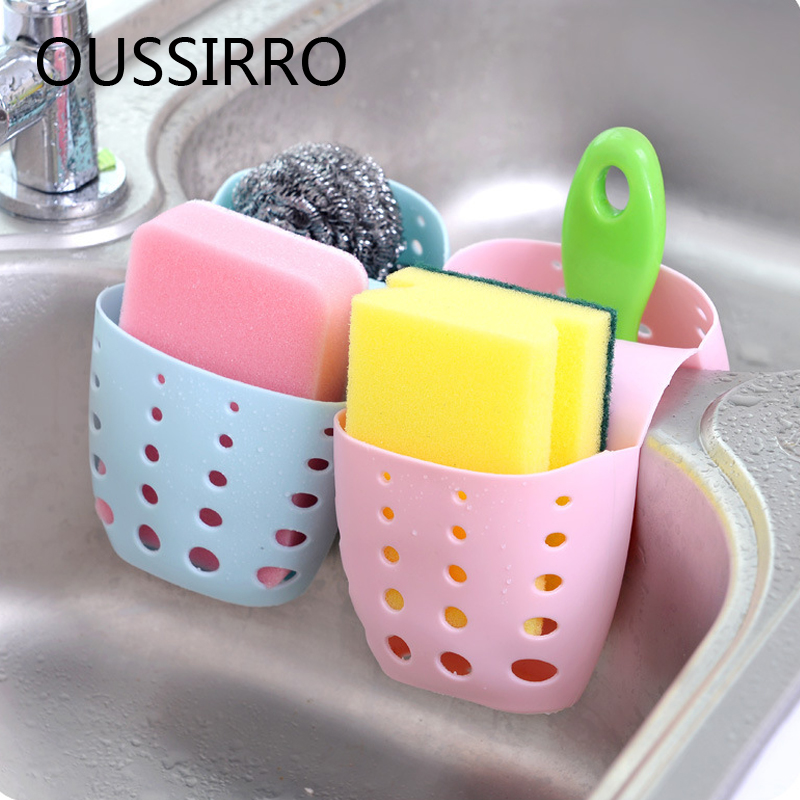Permalink to Kitchen Sink Storage Bag Bathroom Sink Towel Storage Basket Kitchen Tableware Sponge Drainage Rack Bathroom Drain Storage Box
