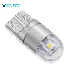 1 Piece T10 led Bulb w5w LED Car DRL 3030 SMD 194 168 COB Clearance Lights Reading Interior Lamp 12V 6000k White Car styling(China)