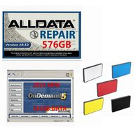 Alldata Software 10.53v alldata and mitchell software all data car software with mitchell ondemand auto repair software 1tb hdd