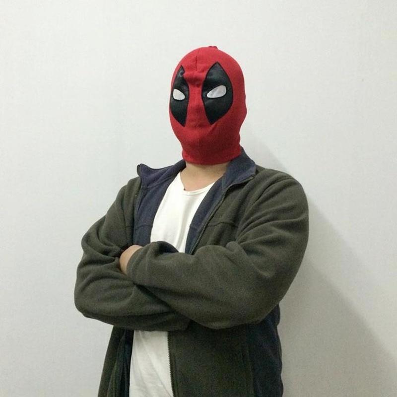 5Pcs lot Superhero Balaclava Halloween Deadpool Masks Cosplay Costume X men Hats Headgear Arrow Party Neck Hood Full Head Mask in Boys Costume Accessories from Novelty Special Use