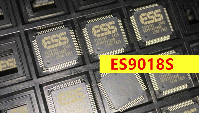 ESS ES9018S 9018 ES9018 chip audio dac chip 1 piece free shipping free shipping 10pcs tda9886ts lcd tv audio driver chip