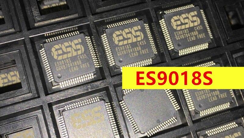 ESS ES9018S 9018 ES9018 chip audio dac chip 1 piece free shipping free shipping 10pcs bl34119g audio driver chip