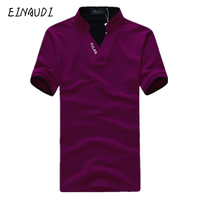 Men polo shirt summer fashion camisa polo high quality for Top dress shirt brands
