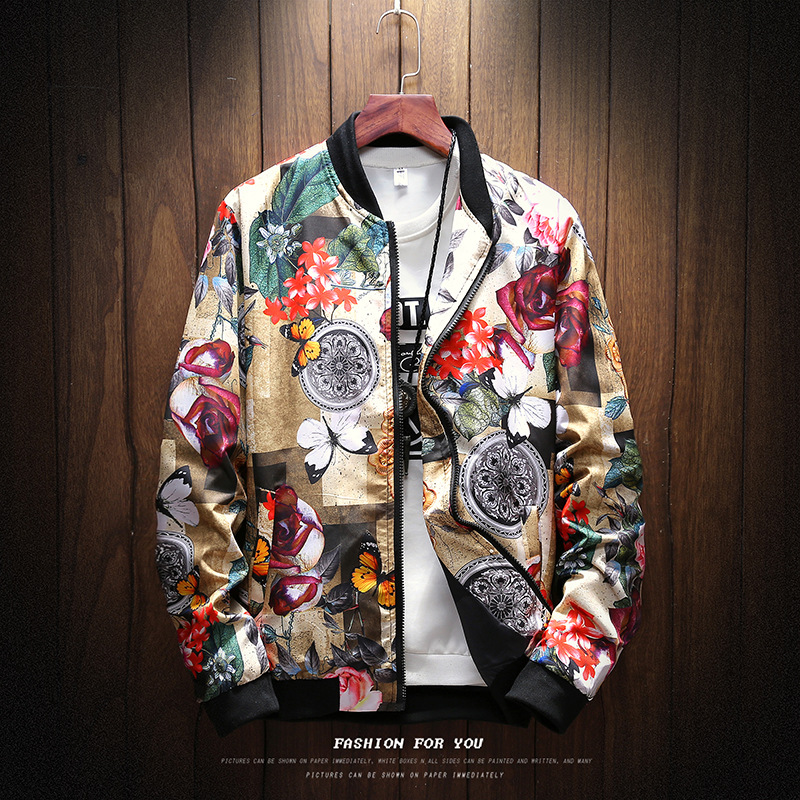 6 STYLE Fashion Spring 2020 New Print Casual Jacket Mens Japanese Streetwear Designer Clothes Plus ASIAN SIZE M XXXL 4XL 5XL|Jackets| - AliExpress