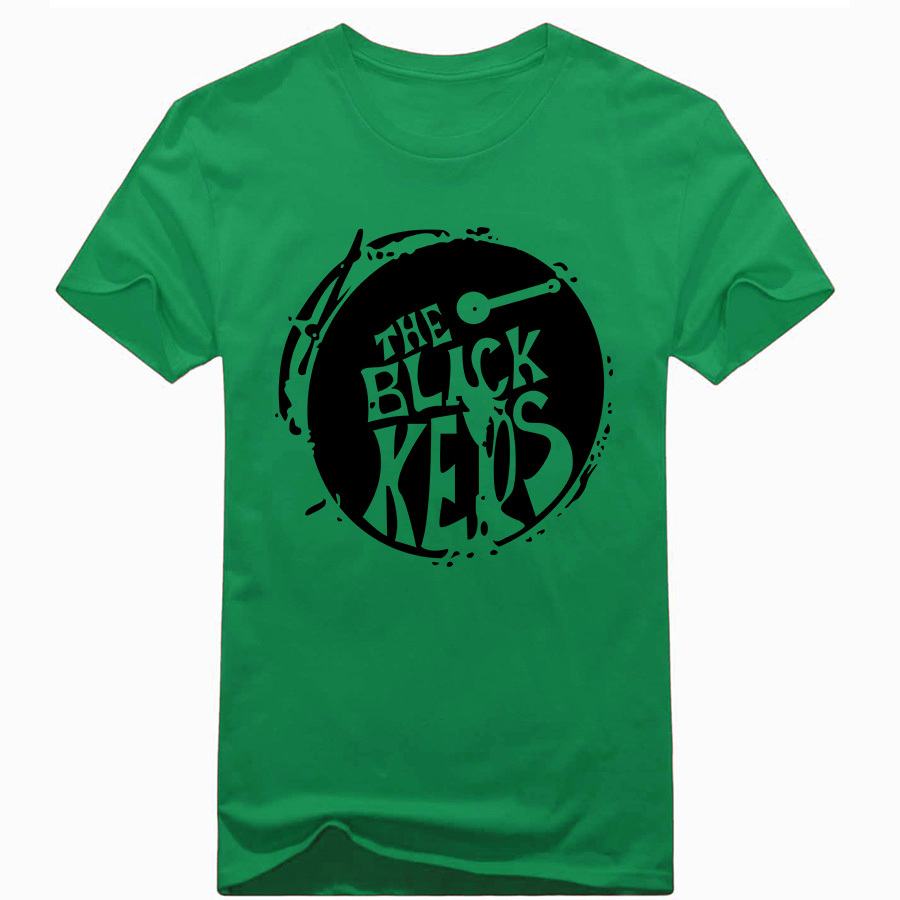 Black keys t shirt uk - Fashion Fitness The Black Keys T Shirts Pure Cotton Short Sleeve Rock Roll Tshirts Men Hip Hop Music T Shirt Summer Tees In T Shirts From Men S