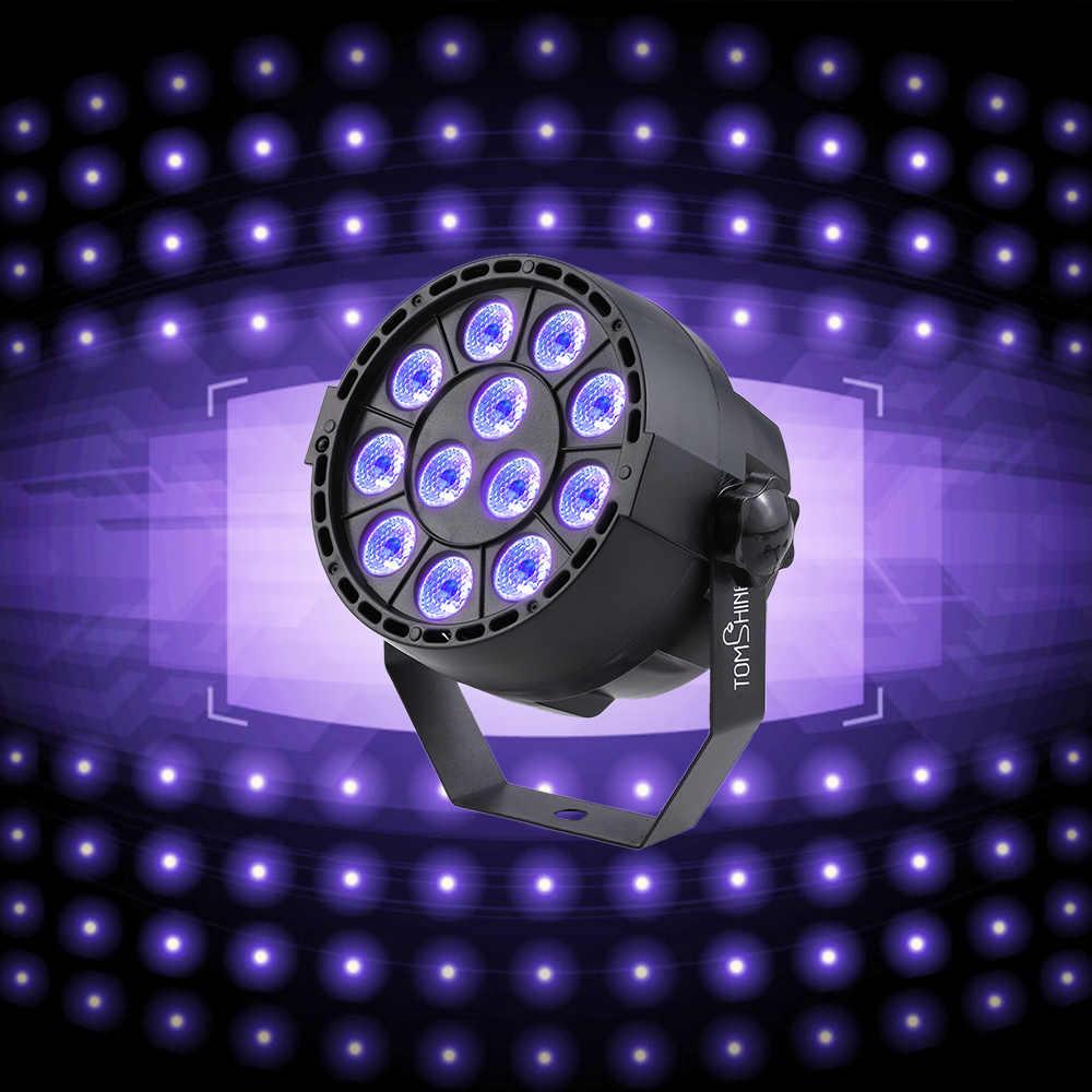 Авто звуковой активный DMX512 Master-slave 8 Каналы УФ светодиодный сценический свет светодиодный Номинальный DJ оборудование ультрафиолетового светодиодный сценический мигающий свет Lmap