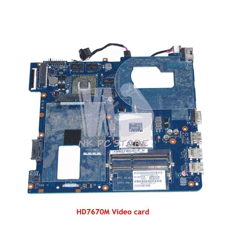 NOKOTION For Samsung NP350 NP350V5C 350V5X Laptop Motherboard QCLA4 LA-8861P BA59-03397A MAIN BOARD DDR3 HD7670M Video card nokottion la 8861p ba59 03541a ba59 03397a laptop motherboard for samsung np350 np350v5c 350v5x qcla4 hm76 ddr3 hd7670m