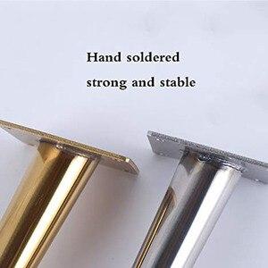 Image 4 - Nóżki do mebli, sofa regulowana noga stół ze stali nierdzewnej nogi szafka na sprzęt stopy opakowanie 4 szt