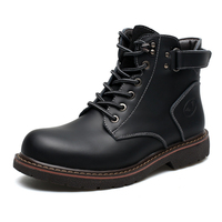 Fashion Casual Men Boots High Quality Spring Autumn Winter Men Martin Snow Boots Ankle Boots Working