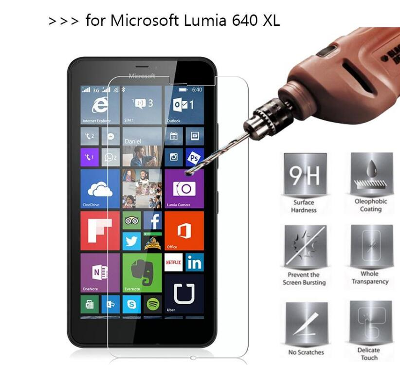 2pack/lot Glass For Microsoft Lumia 640 Xl Screen Protector Tempered Glass For Microsoft Lumia 640 Xl Glass Phone Film