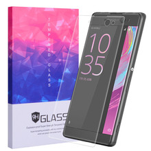 For Sony Xperia Xa Ultra 3D glass Screen Protector Electroplated Ultra-thin 9H Scratch Resistant Tempered film Curved Edge Cover