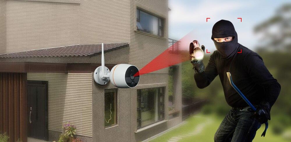 wifi PIR camera motion detect