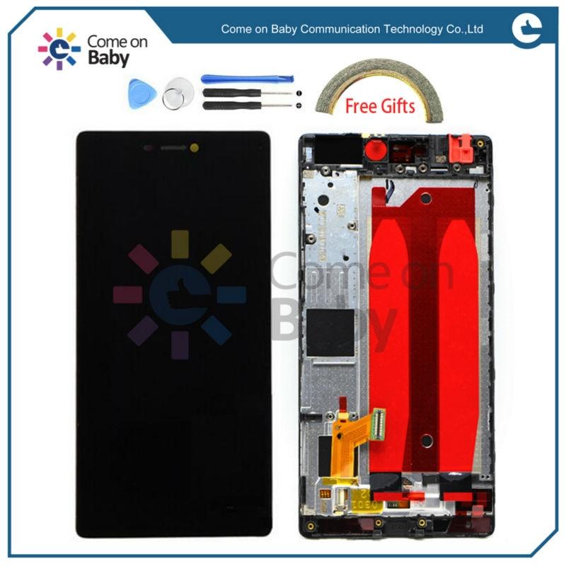 "imágenes para 5.2 ""Reemplazo de la pantalla completa para Huawei P8 pantalla LCD + touch digitizer + frame asamblea GRA-UL00/-UL10 GRA-L09 GRA-CL10/CL00"