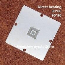 Calefacción directa 80*80 90*90 MN2WS0250E MN2WS0250G MN2WS0250Z MN2WS0250B 2WS0250 plantilla BGA