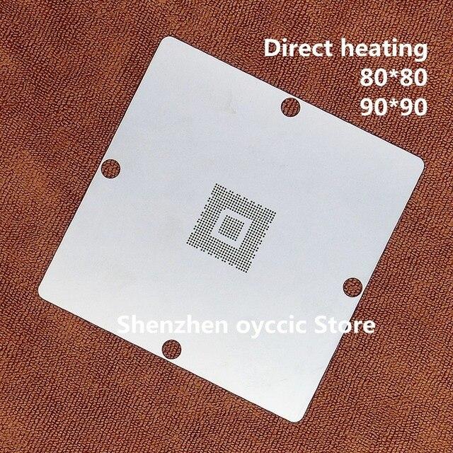 Direct heating 80*80 90*90  MN2WS0250E MN2WS0250G MN2WS0250Z MN2WS0250B 2WS0250 BGA Stencil Template