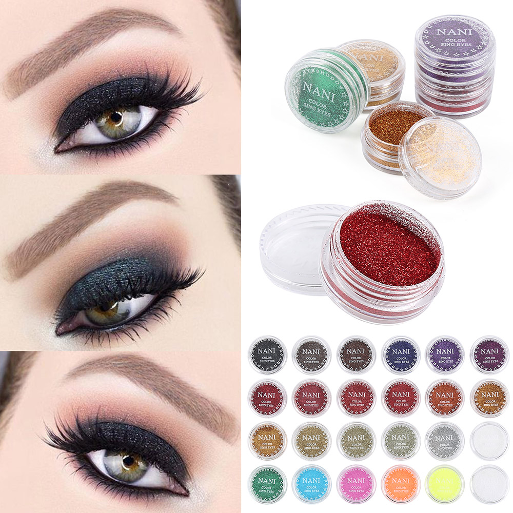 Glitter Eyeshadow 24 Color Glitter Eyes Palette Maquillaje ...