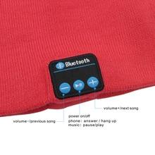 Warm Winter Cap With Built-In Speakers