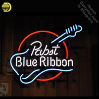 Pabst Blue Ribbon Neon Signs Handcrafted Neon Bulb Sign Glass Tube Iconic Neon Signs For Home Professional Neon Bulbs Decorative