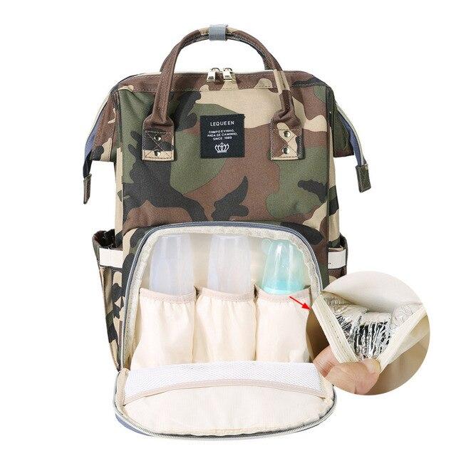 881b2d7ed5e6 2019 Travel Mummy Bag Multi-function Big Capacity Fashion Camouflage Backpack  Bolsa Maternidade Stroller Nappy