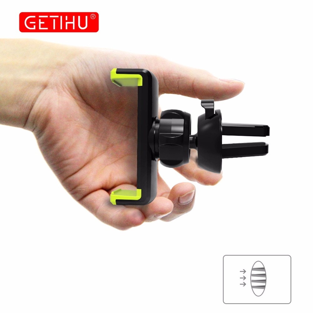 HTB1b1iZgpkoBKNjSZFEq6zrEVXaT - GETIHU Car Phone Holder For iPhone X XS Max 8 7 6 Samsung 360 Degree Support Mobile Air Vent Mount Car Holder Phone Stand in Car