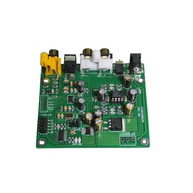 Image 3 - ES9038 Q2M I2S DSD Optical Coaxial IIS/DSD DOP 384KHz Input Decoder DAC Headphone Output Audio amplifier Board-in Amplifier from Consumer Electronics