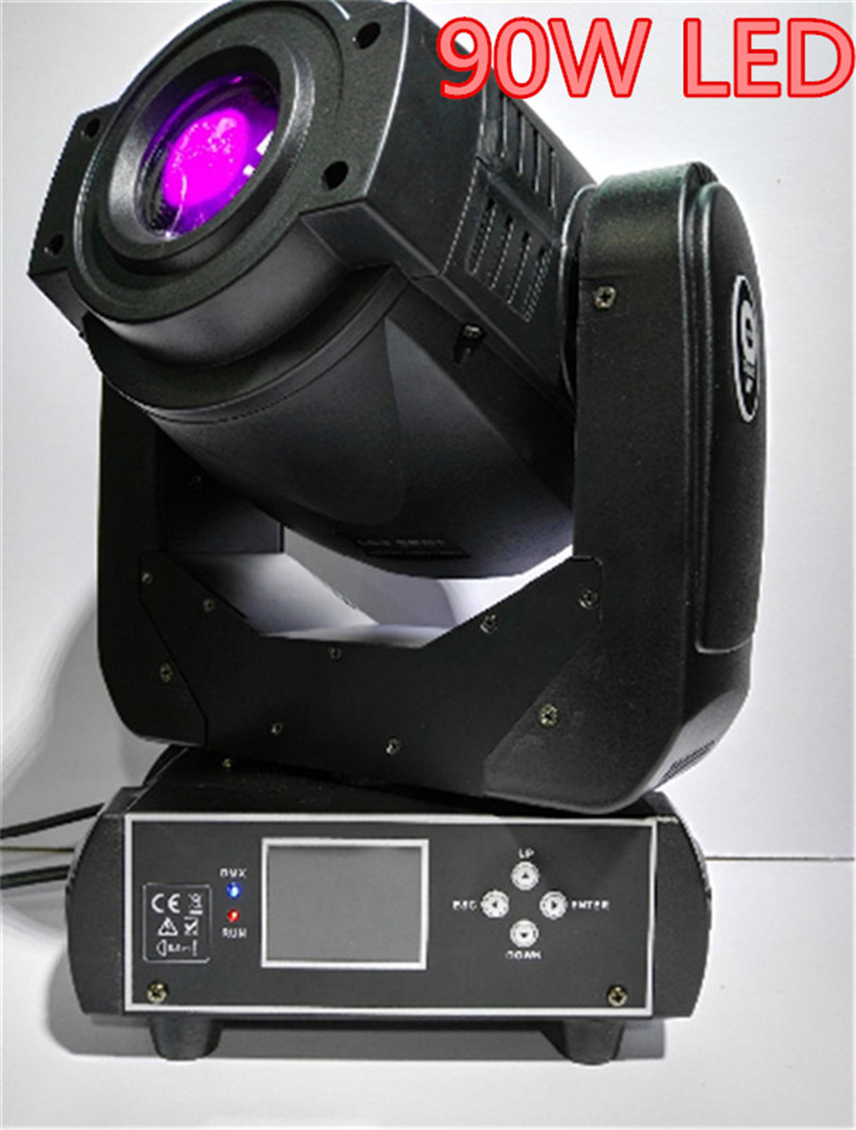 2X 90W LED Moving Head Spot Stage Lighting 6 16 DMX Channel Hi Quality Hot