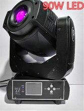 2×90 Вт светодиодный перемещение головы пятно освещения сцены 6/16 канала DMX Привет-Качество Лидер продаж 90 Вт 3 -лицо Призма светодиодный движущегося света Новый Дизайн