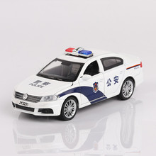 1:32 patrol wagon Diecast Alloy Metal Luxury Racing Car Model Collection Pull Back Toys Car Gift Light and Music 036