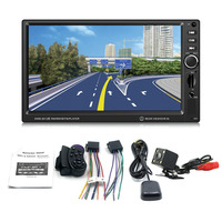 Foval 8012G 7 Inch 2 Din Car Audio MP5 Player Multimedia Support Bluetooth And GPS Navigation