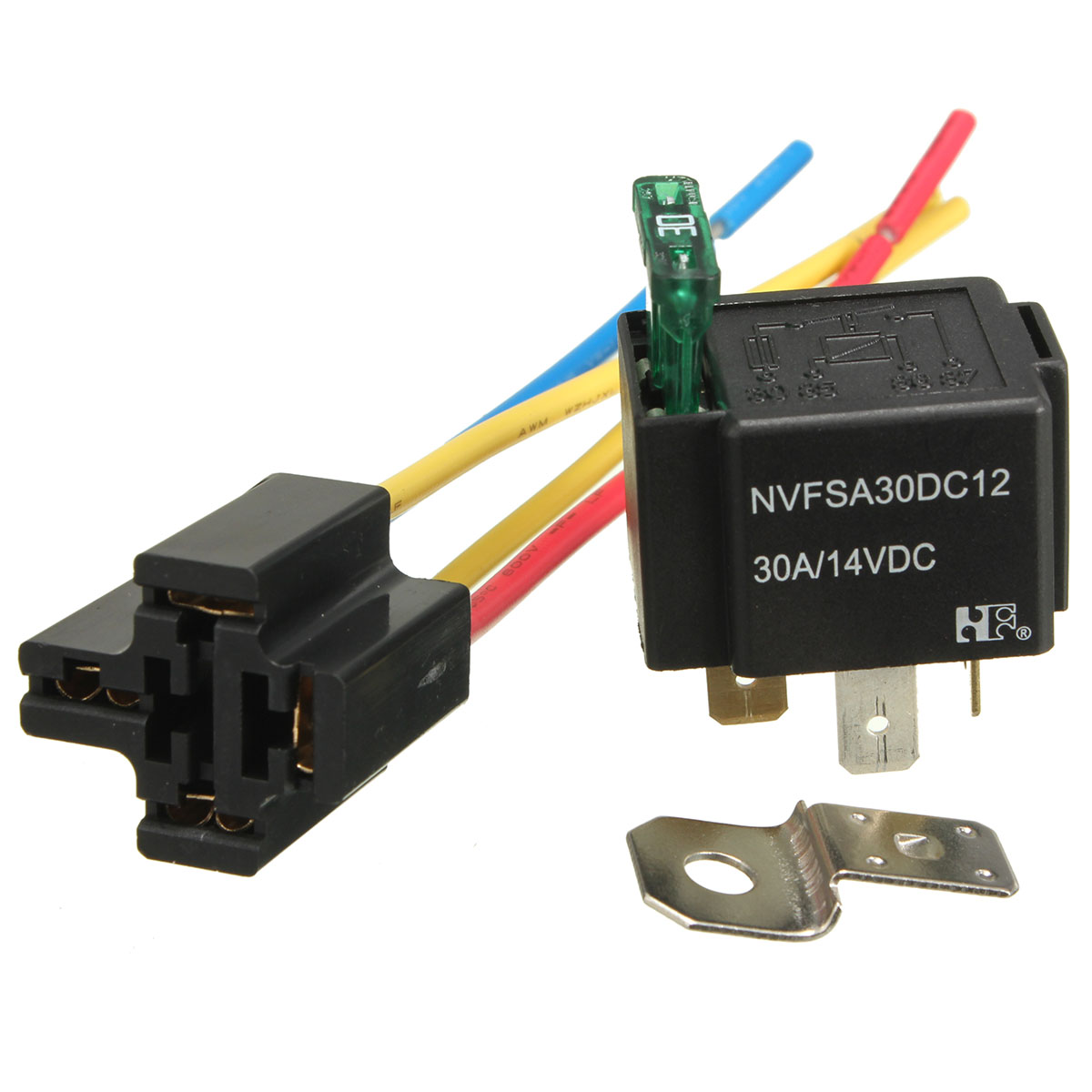 12v 5 Pin Relay Socket Wiring Diagrams Prong Diagram 2015 New Pre Wired 4 Mounting Base Holder Rh Sites Google Com 24 Volt