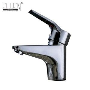 Image 2 - Sıcak ve Soğuk musluk bataryası Banyo Havzası lavabo musluğu Krom Bakır Su musluk bataryası Tek Kolu Banyo Armatürleri FY103