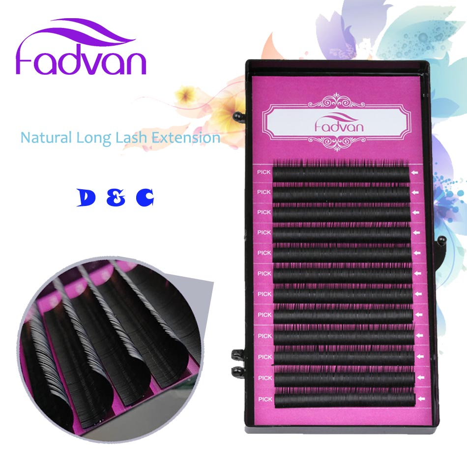 All Thickness JBCD Curl Makeup Lashes Extensions Eyelashes for Building Mixed Hand Made Natural Long False Eyelashes