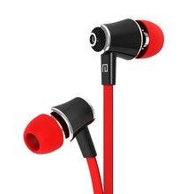 Jm21 wired in-ear fones de ouvido estéreo jogos fones de ouvido com em-linha contol & microfone para ios telefones android