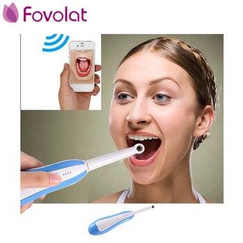 WiFi HD Intraoral Nội Soi Không Dây Nha Khoa Máy Ảnh LED Giám Sát Ánh Sáng Kiểm Tra đối với Dentist Oral Video thời gian Thực Các Công Cụ Nha Khoa