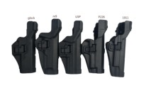 Level 3 SERPA LIGHT BEARING Tactical HOLSTER SET USP Pistol Holster for HK Compact