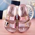 Nuevos niños zapatillas niñas playa del verano zapatos zapatillas niños deslizador niños calzados niños niñas sandalias alta calidad