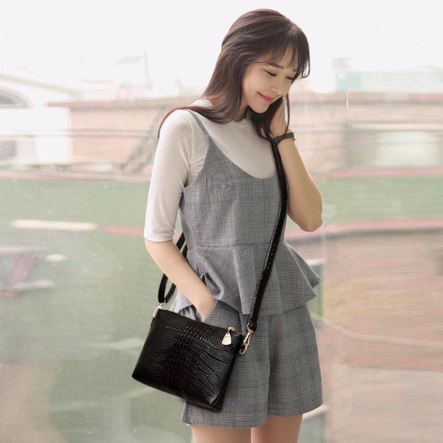 New Arrive 2017 Women Handbags Fashion Clutch Female Pouch Mini Handbag Crocodile Pattern Shoulder Bag Small Tote Ladies Purse
