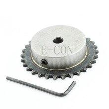 1 шт. 8 мм диаметр 30 зубьев 30 т Металл пилот мотор шестерни роликовый цепной привод звездочки