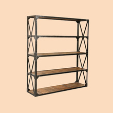 However gifted American style home LOFT Landmark formula Shelves storage shelves display rack simple finishing