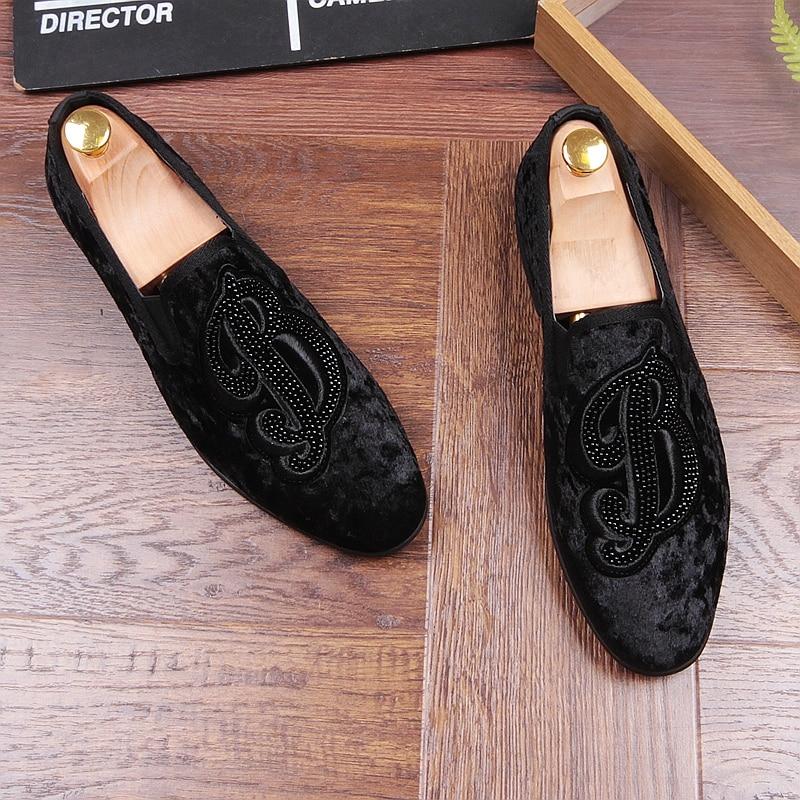 01 Mocassins Slip Zapatillas De 2018 Homens Inferior Casuais Hombre Sapatos Preto Couro On Parte Vermelha Condução Gommino Camurça nZTZESx