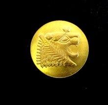 Manufacturer custom gold coins most popular 3D electroplated