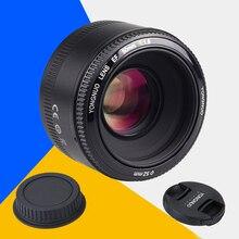 Para nikon d7100 d3100 d90 d7000 d5200 d5300 cámara yongnuo yn50mm f1.8 YN EF 50mm f/1.8 Lente AF YN50 Gran Apertura Automática enfoque